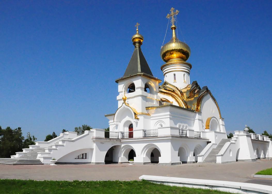 Православные купола Хабаровска