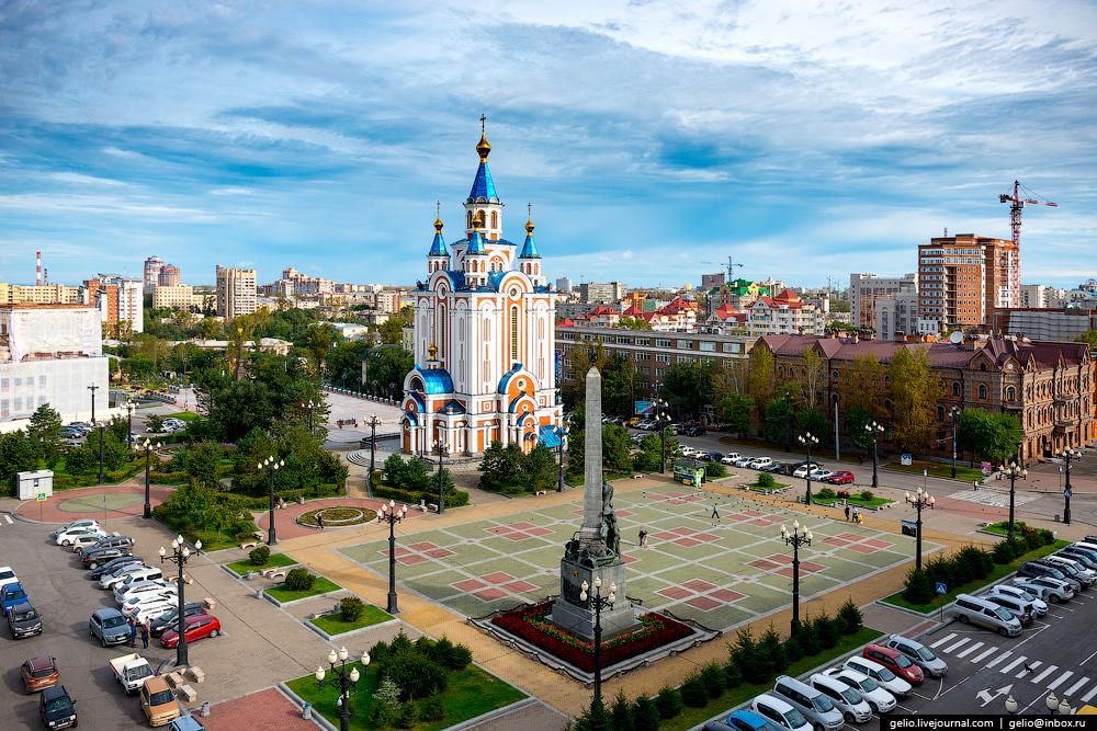 Однодневный тур по Хабаровску для детей