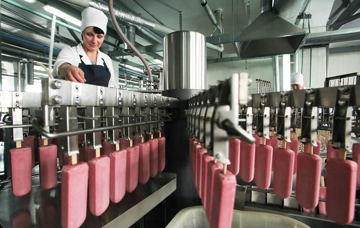 Экскурсия на фабрику мороженного