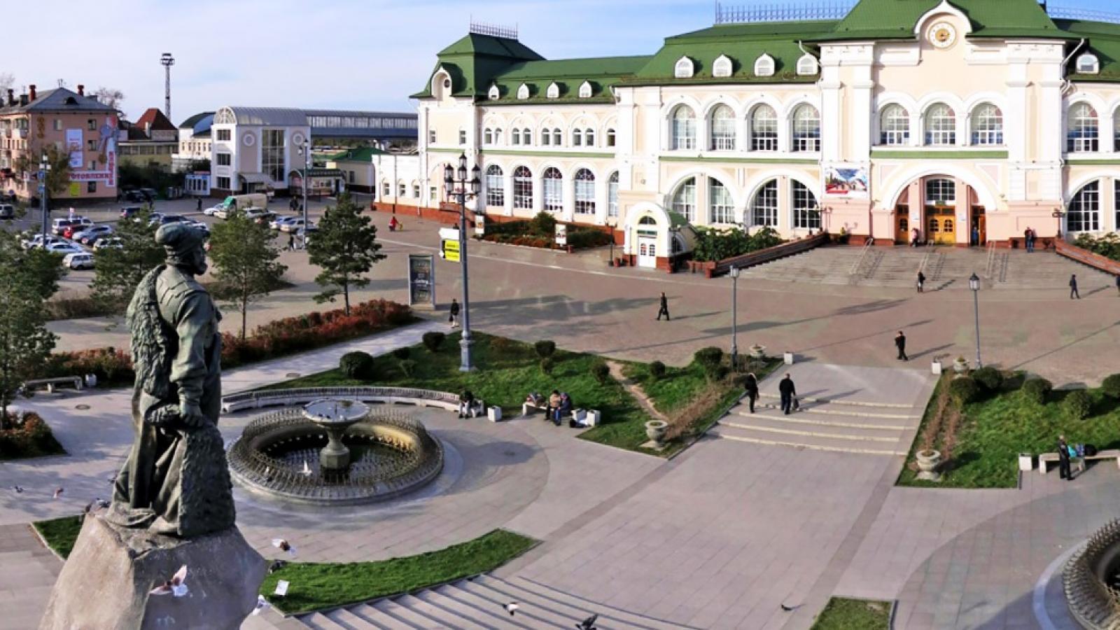 Исторический  Хабаровск
